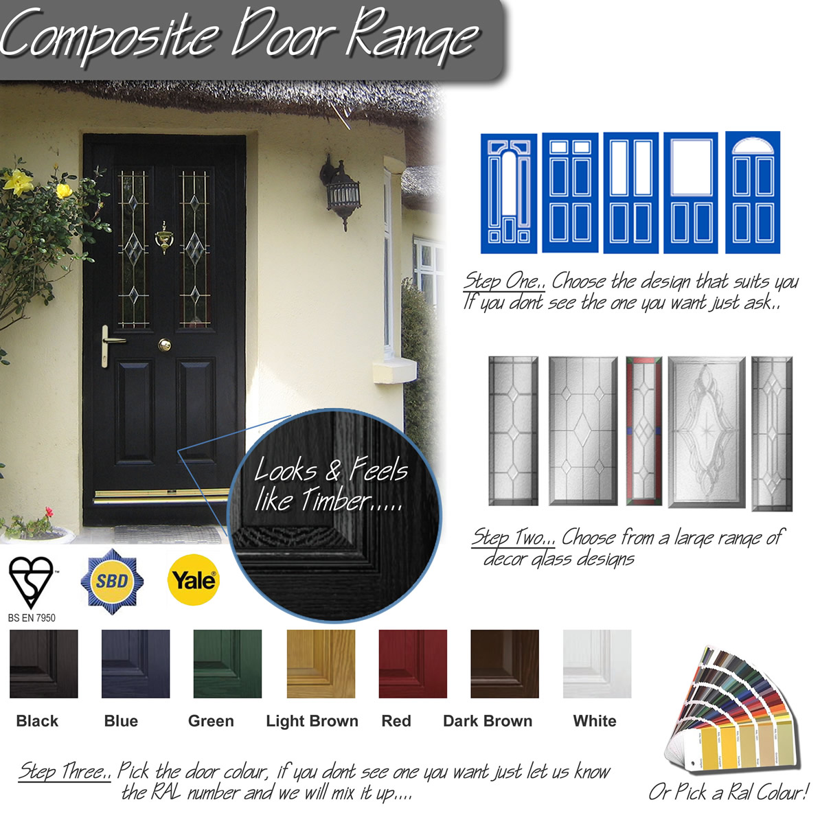 Composite Door Options by Weatherglaze