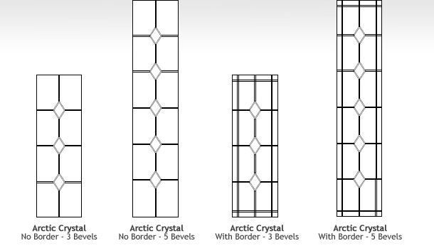 Glass Decor for Composite Doors in Ireland